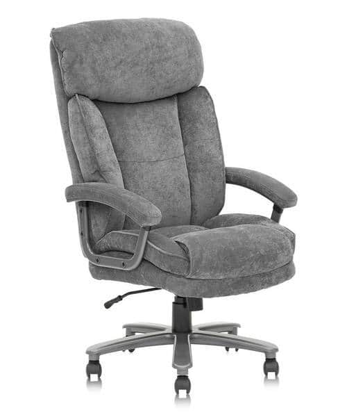 Clatina Upholstered Fabric Big and Tall Office Executive Chair Code: SDFG15 $237.99 + Free Shipping
