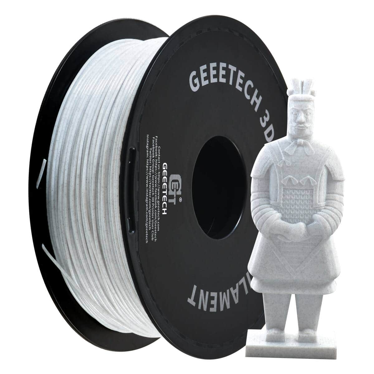 2.2lbs Geeetech Silk PLA Filament 1.75mm from $17.58 + Free Shipping w/ Amazon Prime or Orders $25+