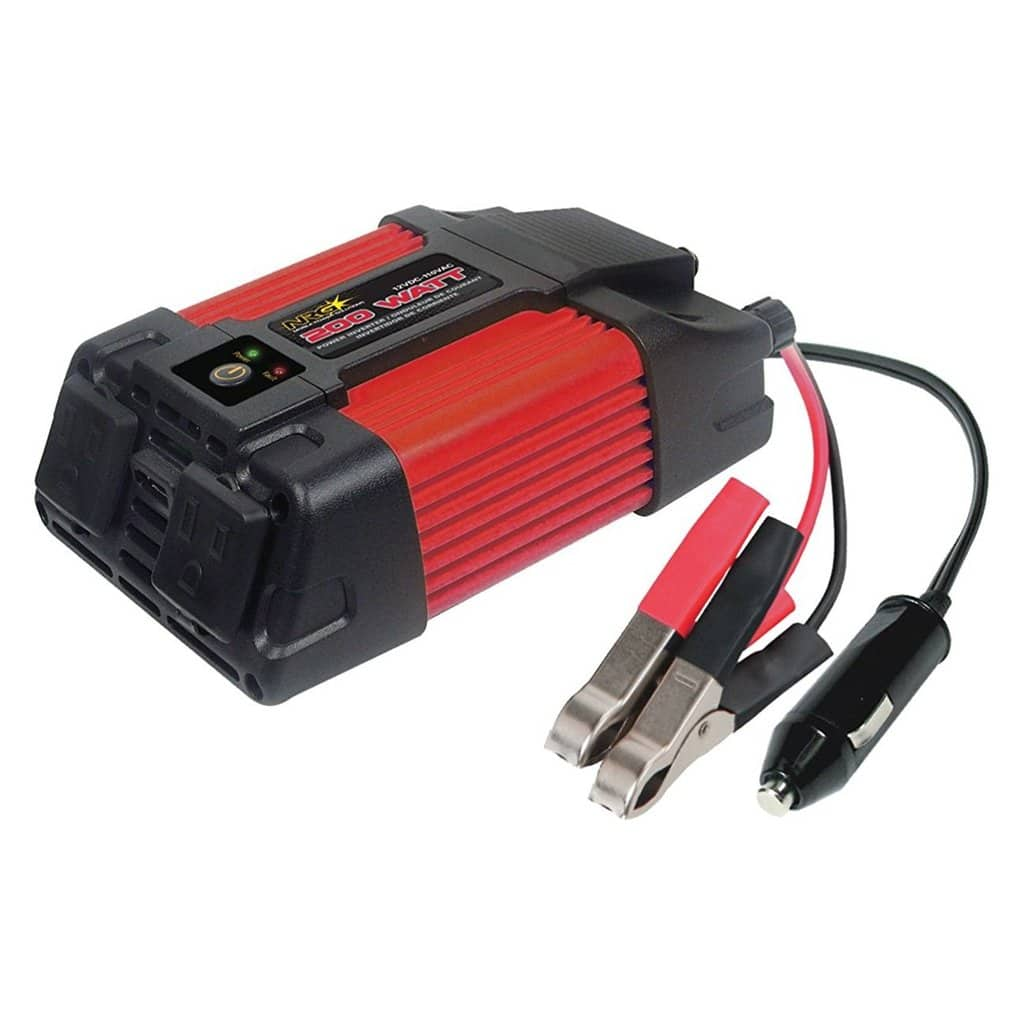 Superex 200 Watt 12V to 110V Dual AC Outlets Power Inverter $15.88 + Free Shipping