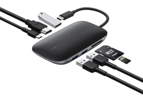 AUKEY USB C 7-in-1 USB-C Hub with 100W PD - $32.49 + Free Shipping