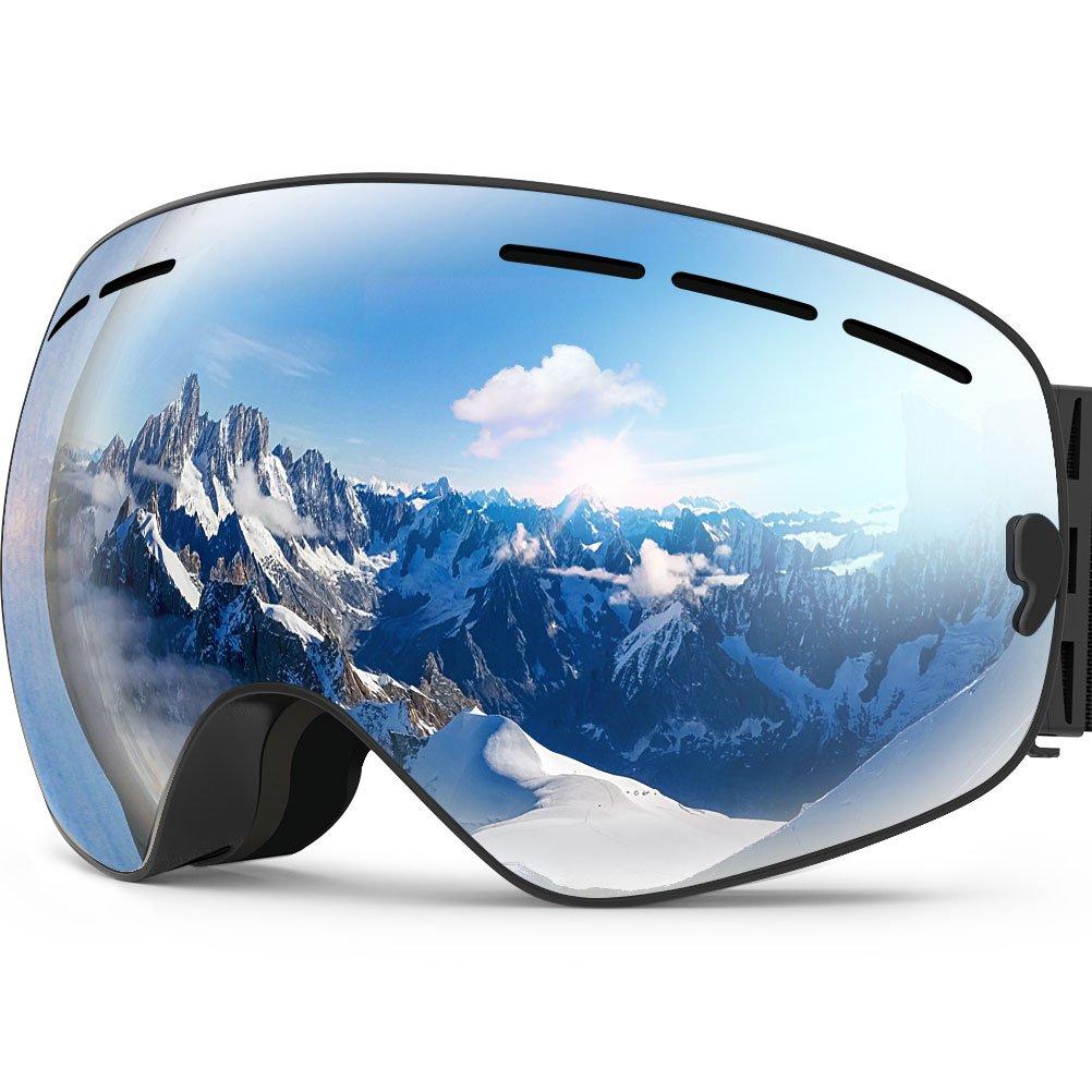 ZIONOR Ski Snowboard Goggles - $18, Helmet - $29, Socks - $10 + Free Shipping