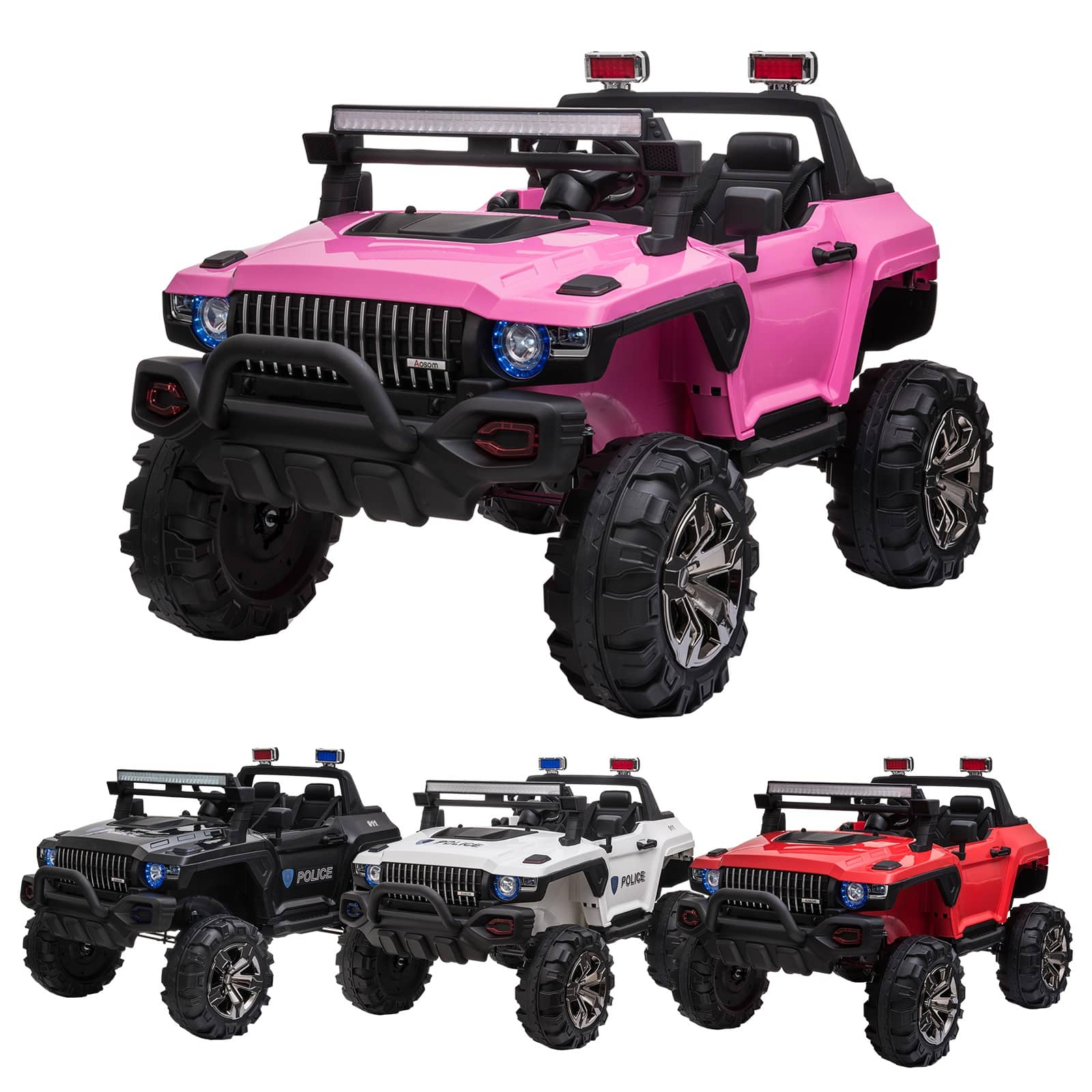 Aosom 12V 2- Seater Ride On Car SUV Truck - $249.99 + Free Shipping