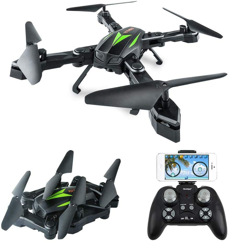 AKASO A200 Foldable Drone with 720p Camera- $29.99 + Free Shipping