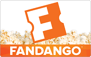 $25 Fandango Gift Card (Email Delivery) for $20