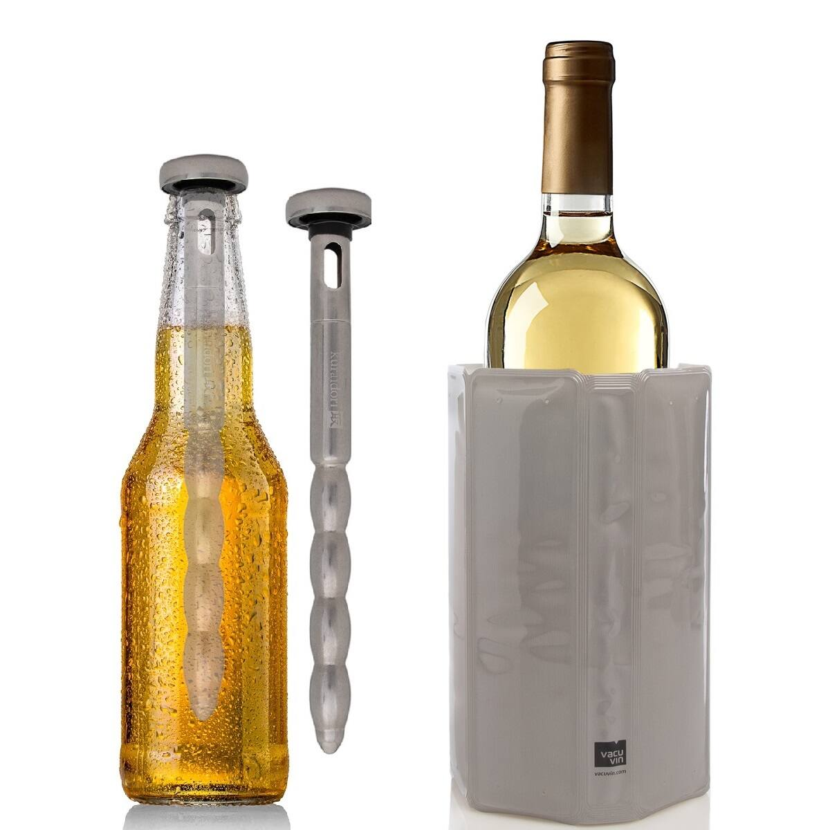 2pk Beer Chill Sticks or Wine Cooling Sleeve $6 + Free Shipping