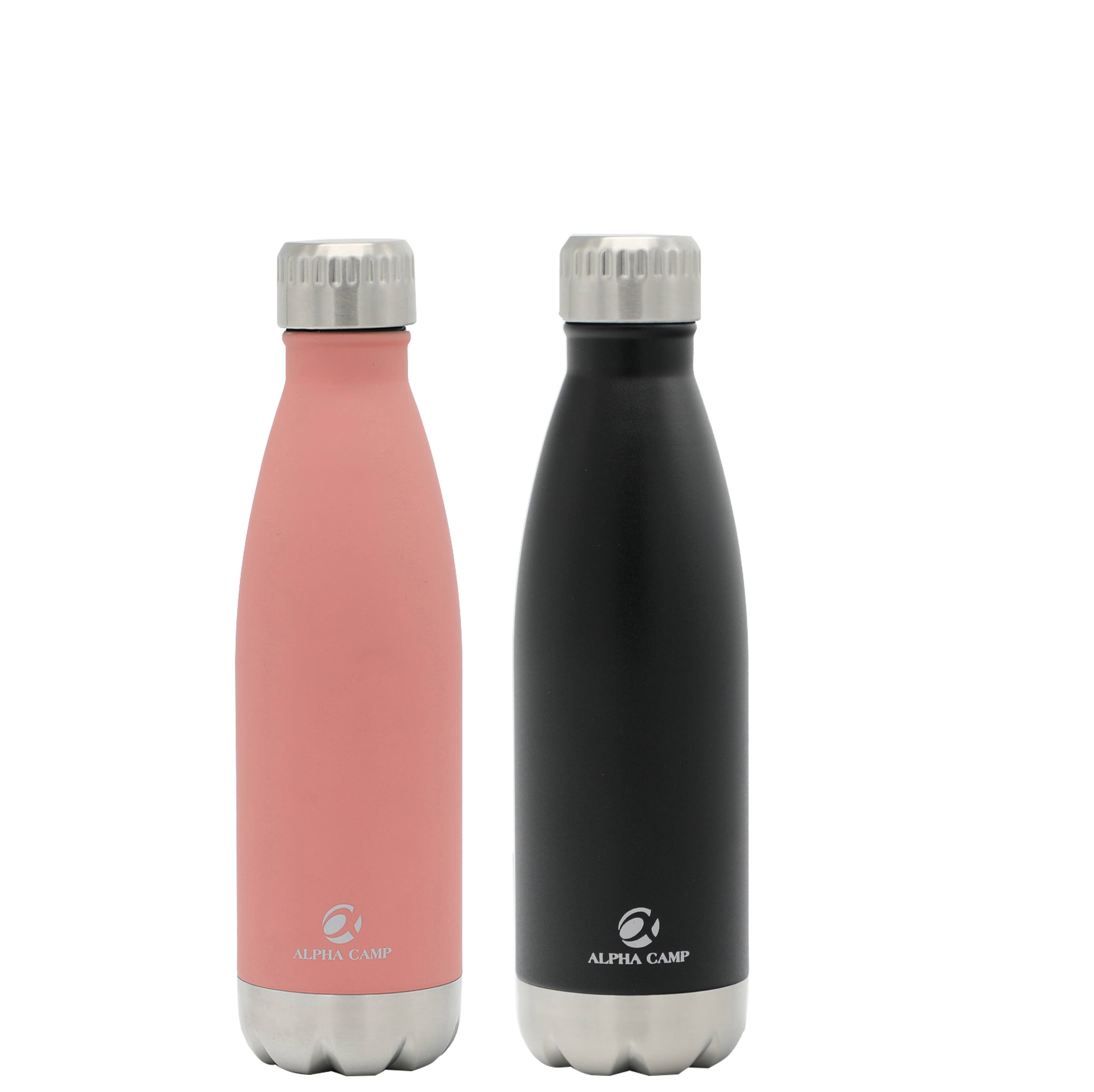 17-Oz Stainless Steel Water Bottle, Buy One Get One Free $13.99 + Free Shipping