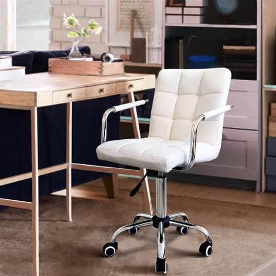 Yaheetech Stylish Swivel Office Chair $85.79 + Free shipping