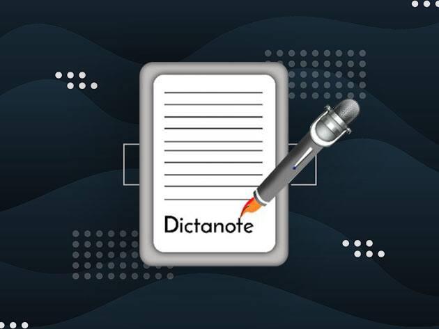 Lifetime Subscription of Dictanote Pro $15