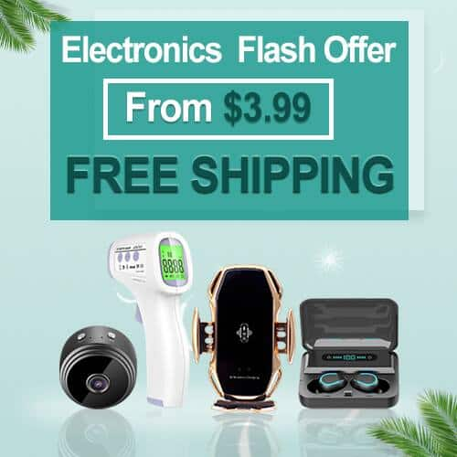 Smart Home Electronics & Accessories Flash Deals From $3.99 + Free Shipping