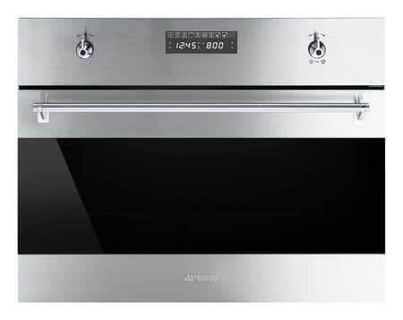 Smeg SU45MCX1 Classic Series 24 Inch Single Wall Speed Oven in Stainless Steel $1249 + Free Shipping