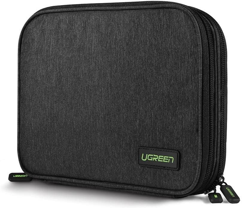 UGREEN Electronics Accessories Organizer Bag & iPad/Tablet Sleeves $10.98 + Free Shipping w/ Amazon Prime