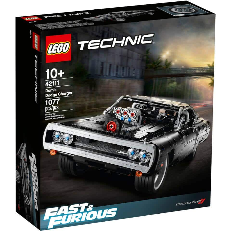 Lego Technic: Dodge Charger (42111) for $89.99 + Free Shipping