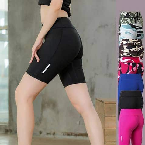 Women's High Waist Fitness Gym Workout Shorts (8 Colors) $6.99 + Free Shipping