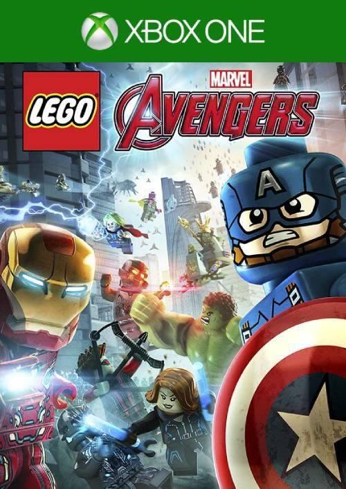 LEGO video games XBOX: LEGO DC Super-Villains $14.99, LEGO Marvel's Avengers $7.99