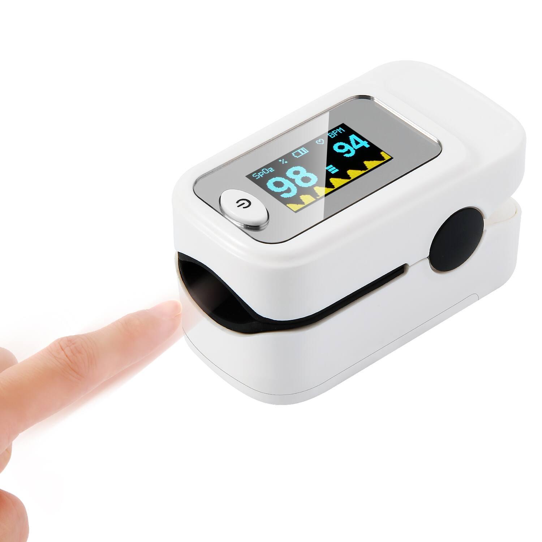 Blood Pulse Oximeter, Fingertip Pulse Oximeter Oxygen for $16.49 + Free Shipping