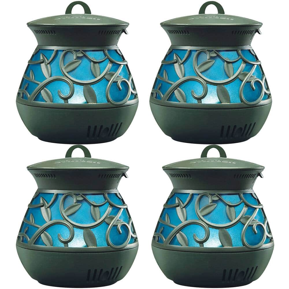 Stinger Mosquito Repellent Lantern, Black/Blue (4-Pack) - $29.99 + Free Shipping