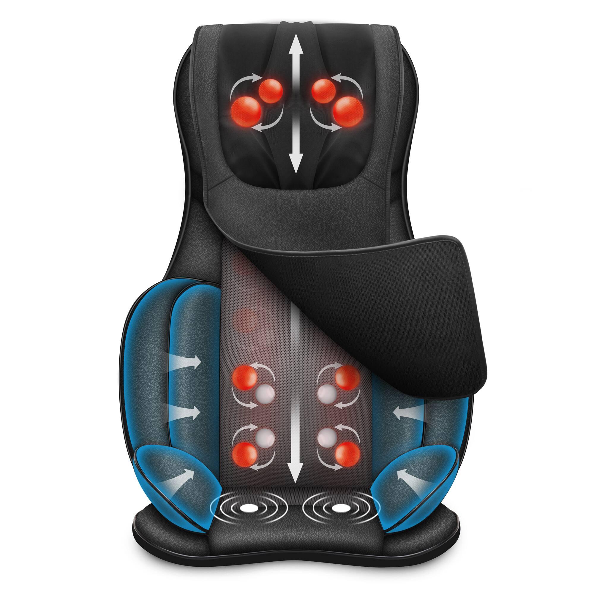 SNAILAX Air Compression Full Body Shiatsu Massager Kneading Cushion w/ Heat - $149.99 + Free Shipping