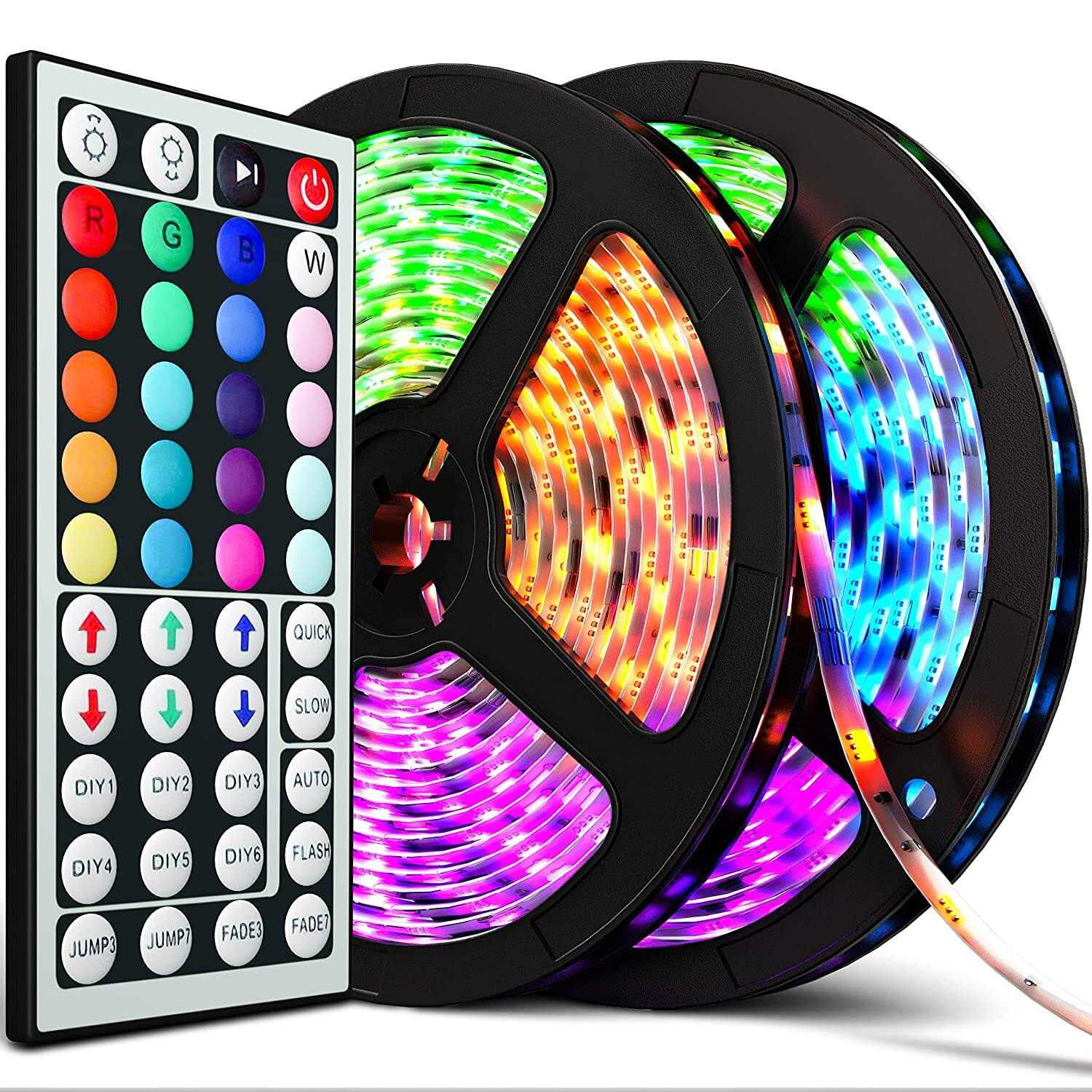 LED Strip Lights 32.8ft Waterproof with Remote for $20.96 + Free Shipping