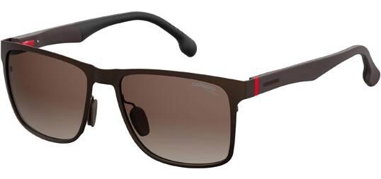 Carrera Polarized Sunglasses: Matte Brown Metal Square $39, Black/Gold-Tone Aviator $44 + Free Shipping