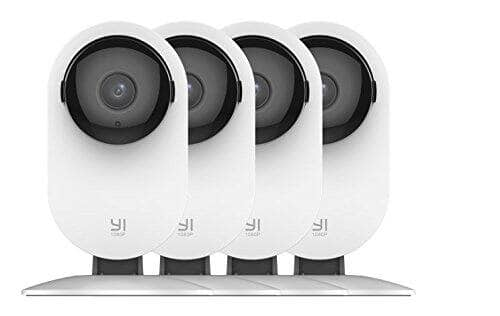 Yi 4pc Home Camera: Wireless IP Security Surveillance Cameras $69.59 + Free Shipping
