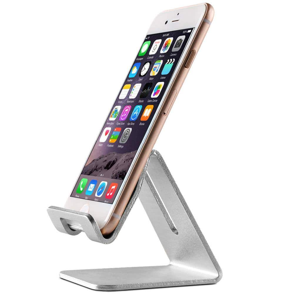 Topeakmart Aluminum Desktop Cell Phone Tablet Stand $6.59 + Free Shipping