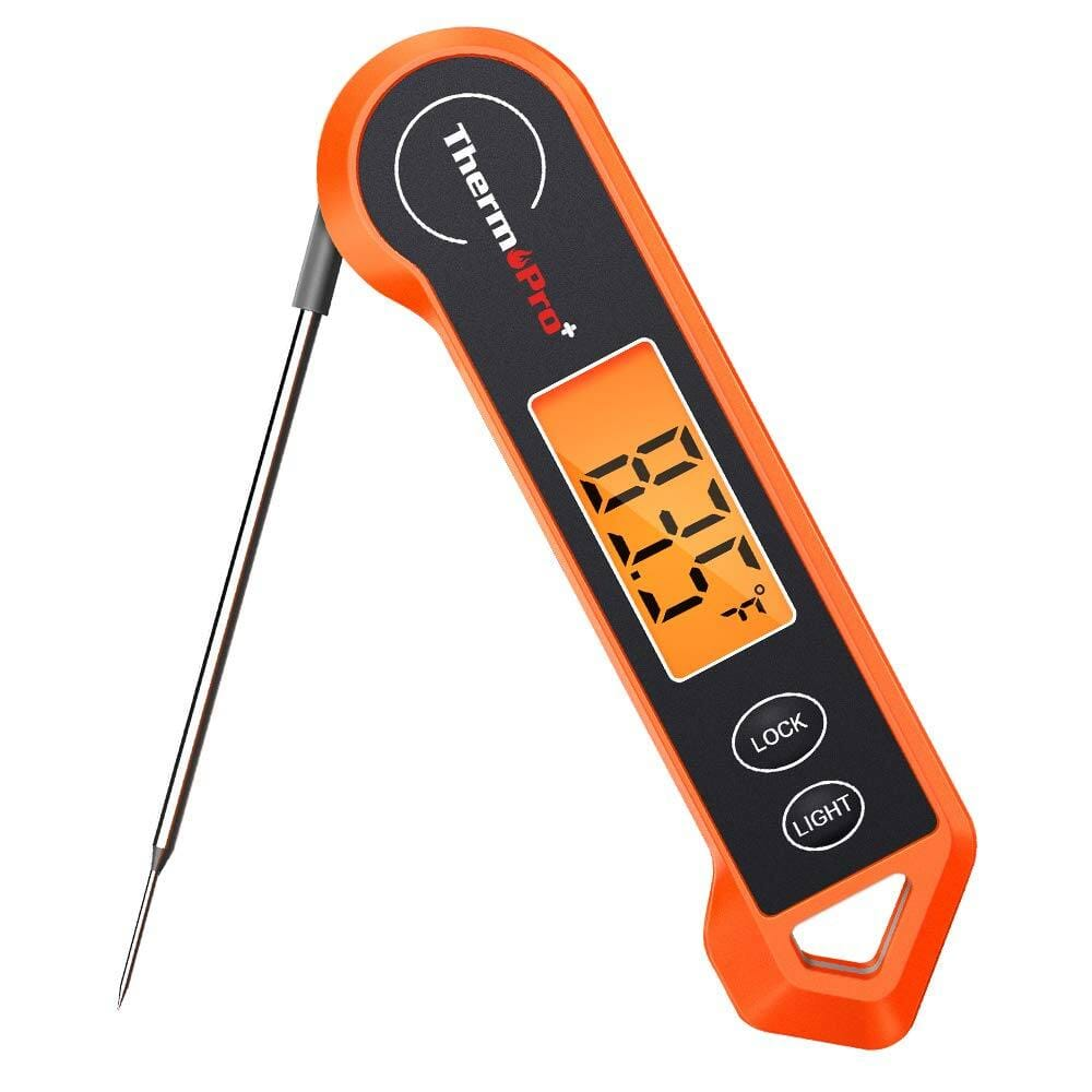 ThermoPro TP19H Waterproof Instant Read Meat Thermometer with Backlit and Motion Sensor $13.99 + FS w/ Prime or Orders $25+