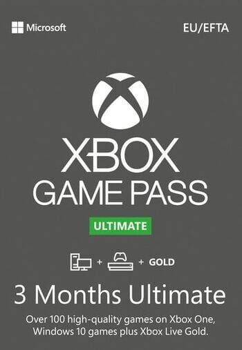 Xbox Game Pass Ultimate 3 Months - $25.80