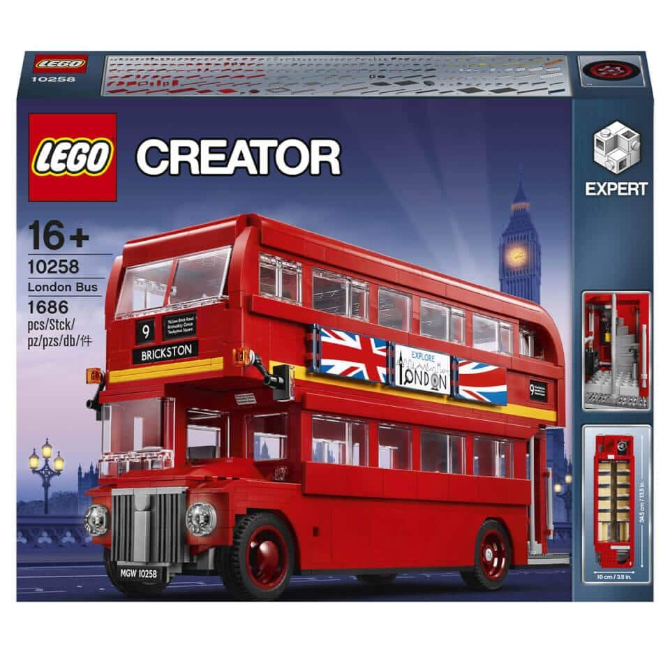 LEGO Creator Expert: London Bus (10258) $104.99 + Free Express Shipping