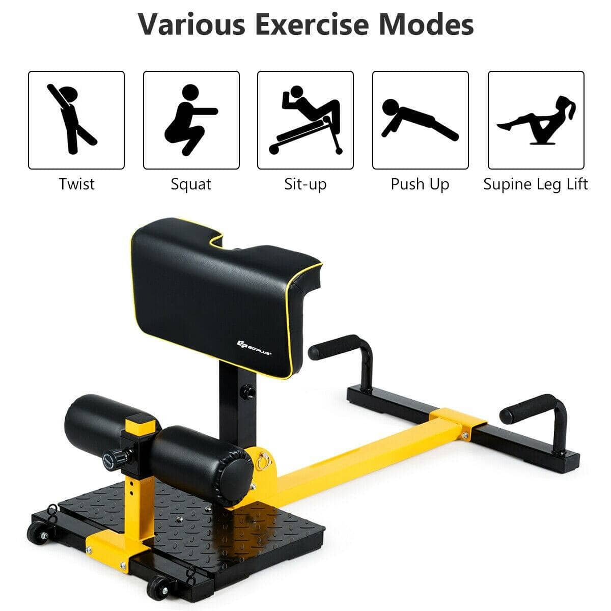 8-in-1 Multifunctional Home Gym Squat Fitness Equipment $85.95 + Free Shipping