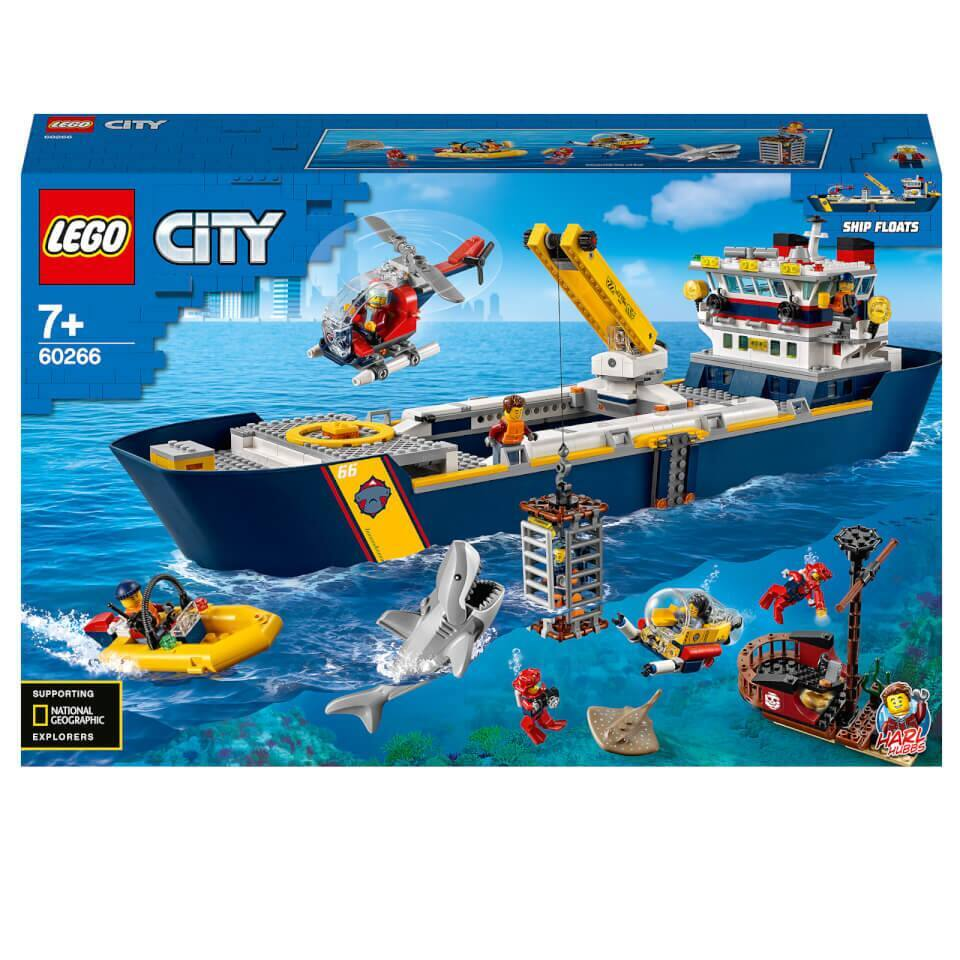 LEGO City Oceans: Ocean Exploration Ship $119.99 + Free Shipping