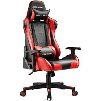 GTRACING Gaming Chair: GT099-RED $121.89 + Free Shipping