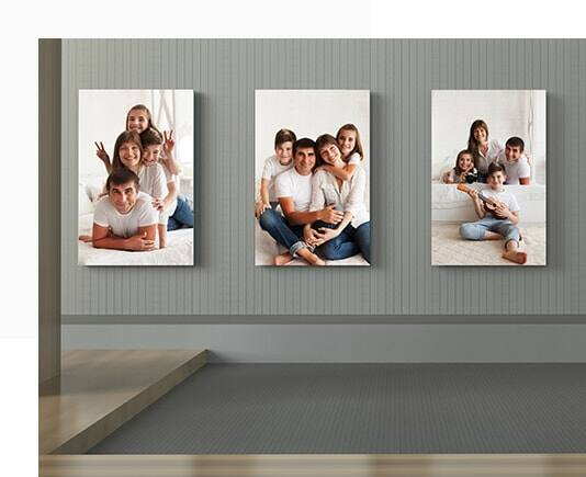 Buy Two Get one Free Custom Canvas Prints (Various Sizes) from $24 Shipped