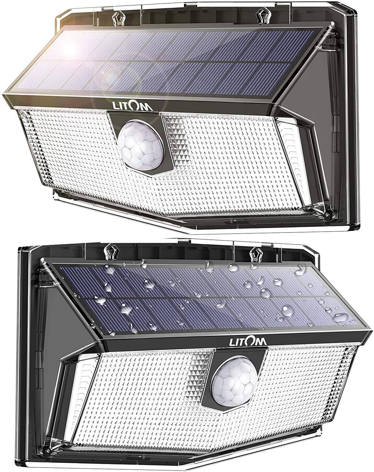 300 LEDs Solar Motion Sensor Lights (2 Packs) $17.99 + Free Shipping