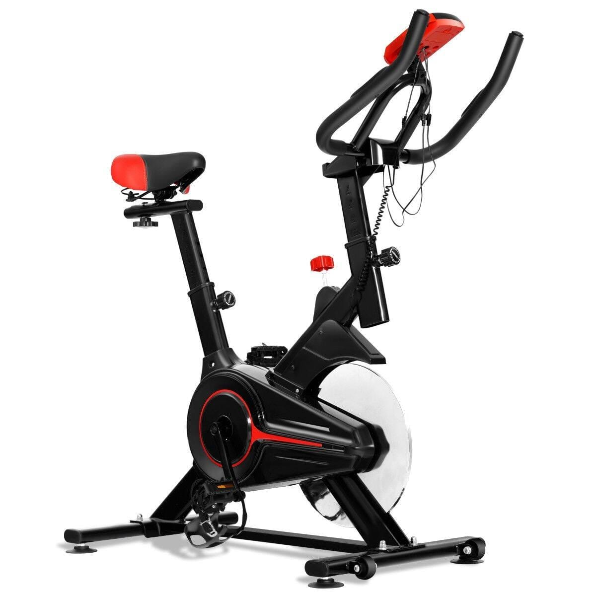 Costway Indoor Workout LCD Display Cycling Exercise Fitness Cardio Bike - $166.95 + Free Shipping