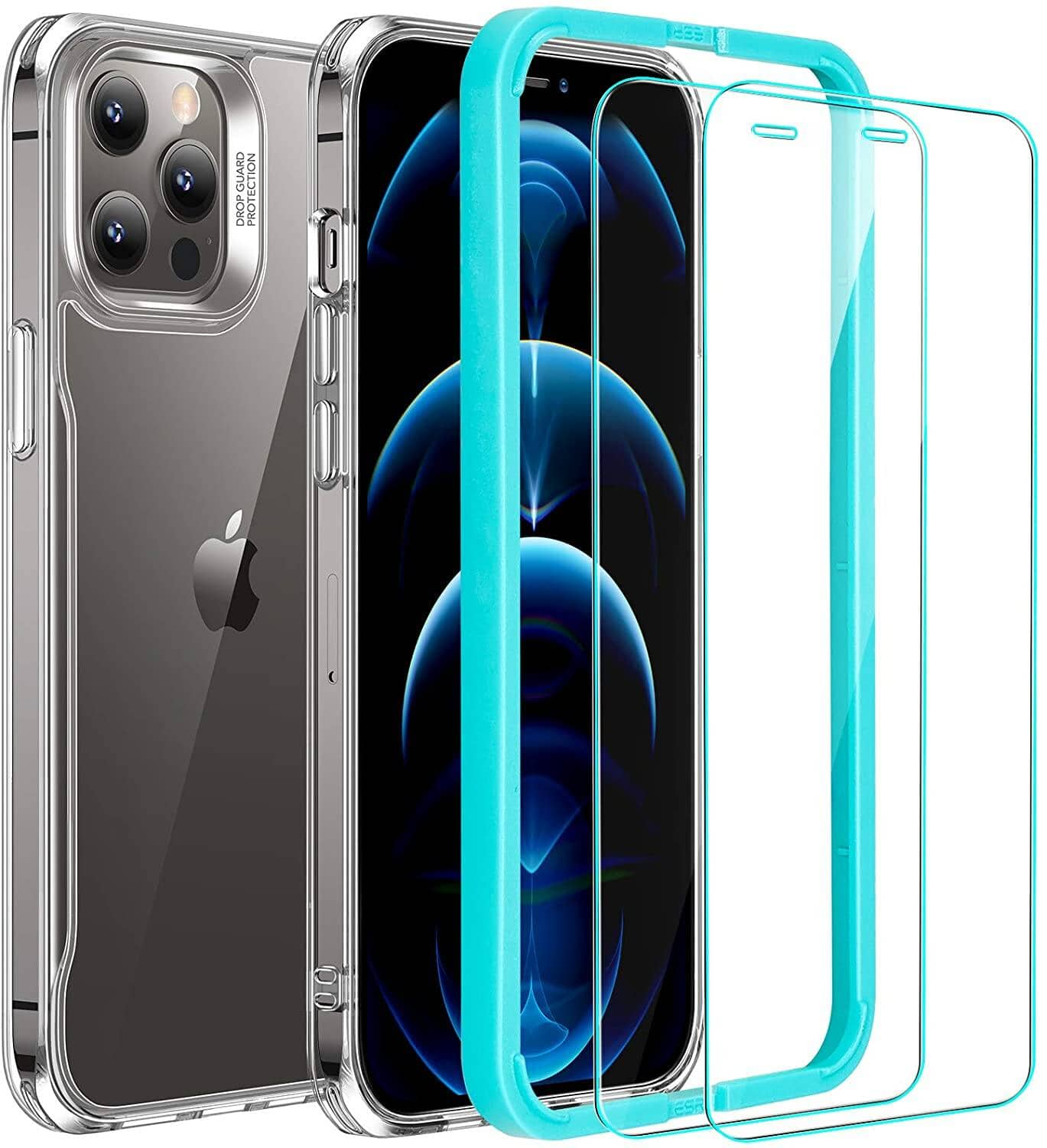 ESR iPhone 12 Pro Max Case + 2-Pack Screen Protector Set under $10 + FS w/ Prime or Orders $25+