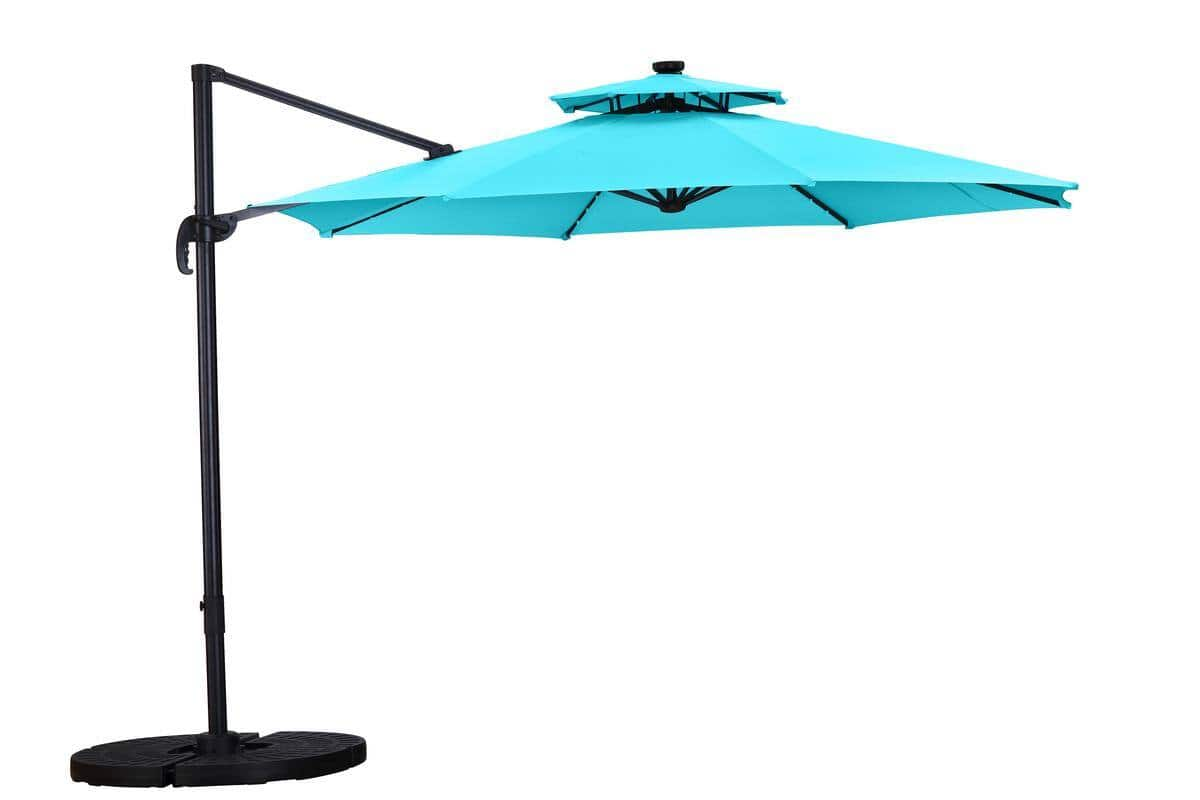 Ainfox 11ft UV Protection Patio Offset Cantilever Umbrella for $114 + Free Shipping