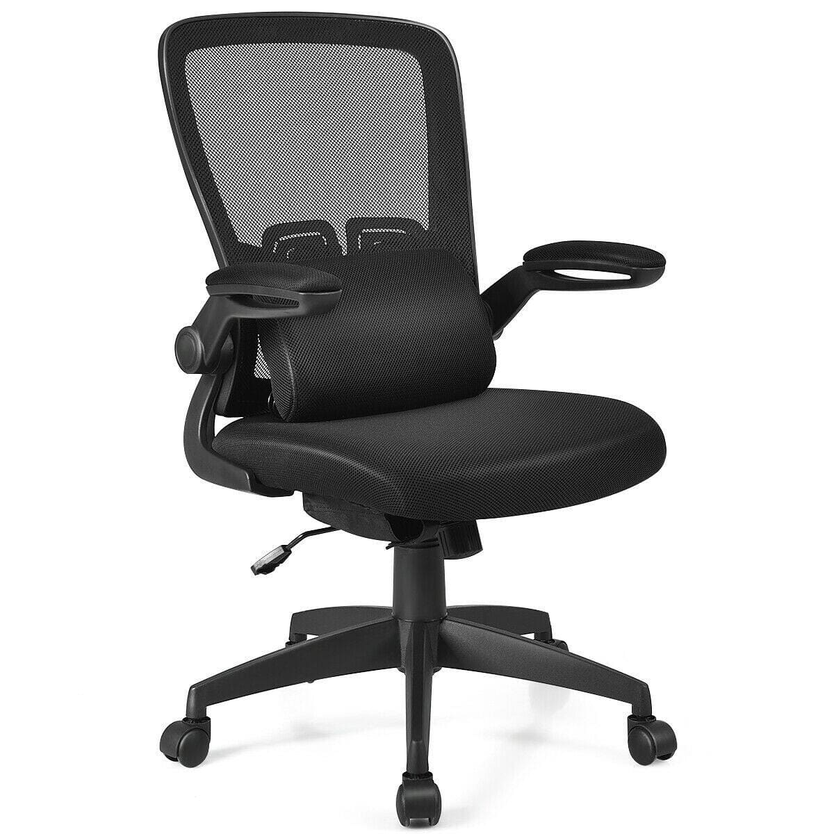 Costway Ergonomic Desk Chair with Flip up Armrest - $86.95 + Free Shipping