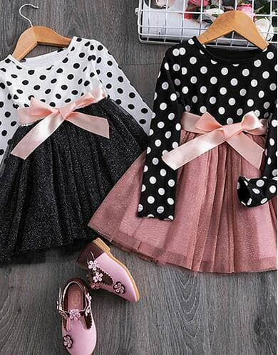 Toddler Kids' Socks $1.99, Boys' & Girls' 2-Piece Cartoon Outfits $5.99, Girls' Dot Mesh Bow Dress $6.99 (Available 100+ Styles) + Free Shipping on Orders $25+ $4.99
