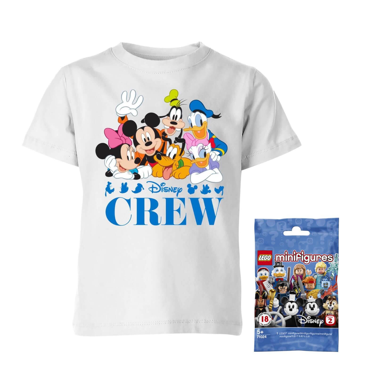 Disney Tee & LEGO Minifigure Bundle $12.99 + Free Shipping
