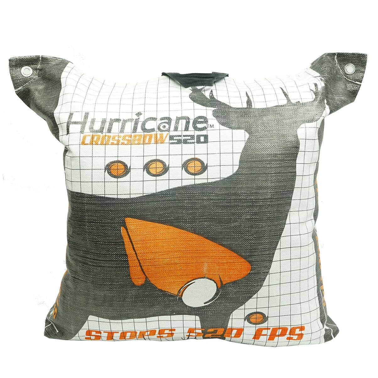 Hurricane H60410 Double Sided 460 FPS Woven Crossbow Archery Bag Target, White - $36.99 + Free Shipping