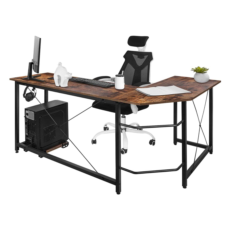 "66"" Inch Corner Desk $80 + Free Shipping"