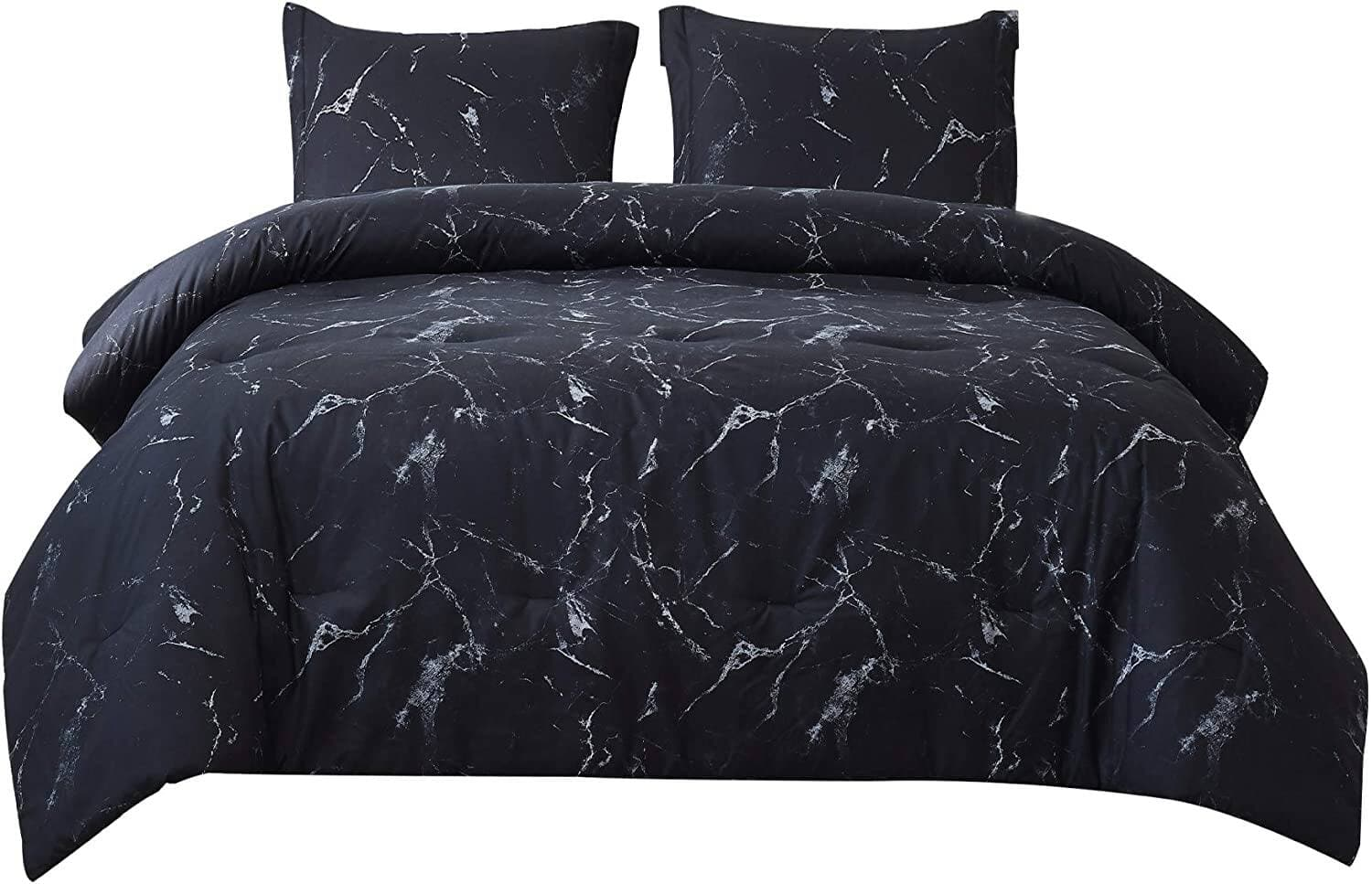 Bedsure Marble Printed Comforter Set (Twin, Black) 2 Piece Sets, Various Sizes Available from $21.99 + Free Shipping