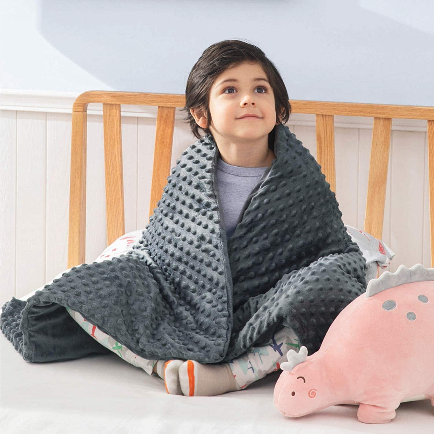Bedsure Cozy Home via Amazon: Weighted Blanket for Kids with Removable Duvet Cover from $20.99 + Free Shipping