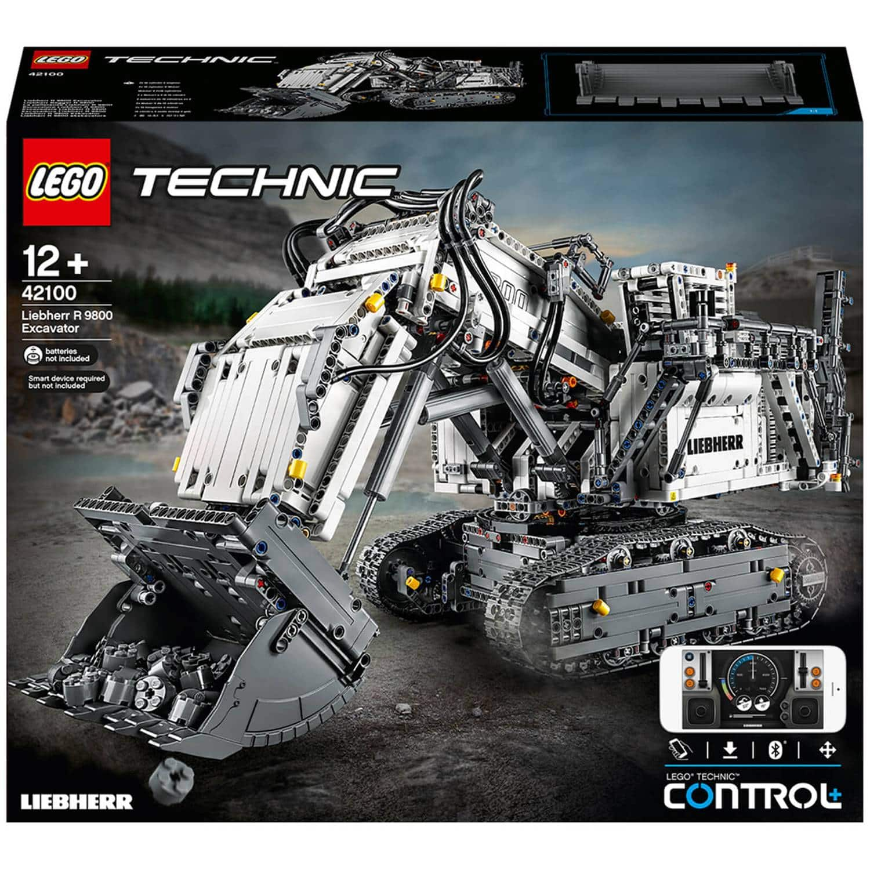 LEGO Technic: Control+ Liebherr R 9800 Excavator Set (42100) $349.99 + Free Shipping