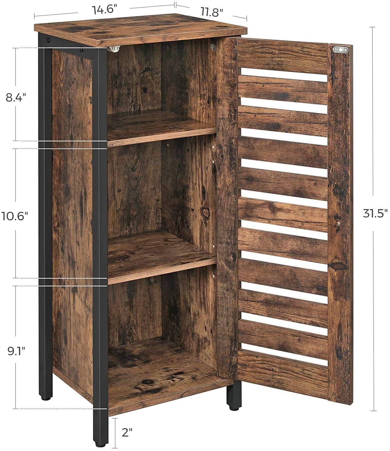 VASAGLE Storage Cabinet Products for Living Room, Kitchen & Dining Room Starts from $47.99 + Free Shipping