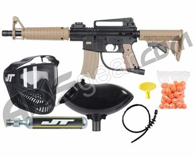 JT Tactical ready to play paintball gun marker kit - TAN/BLACK $70 no tax and free ship over $100
