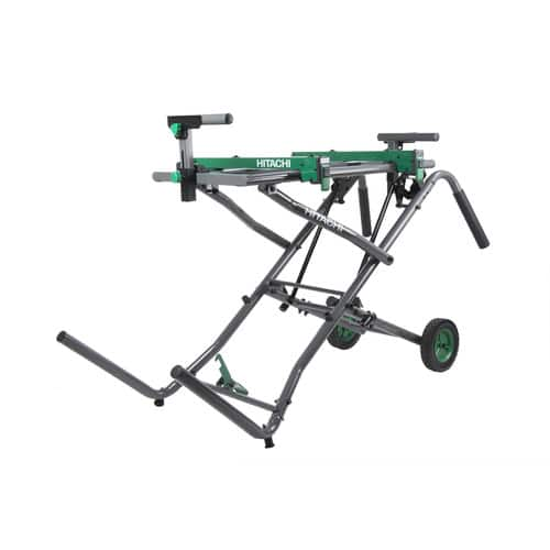 Hitachi Steel Rolling Miter Saw Stand - YMMV - $107.25