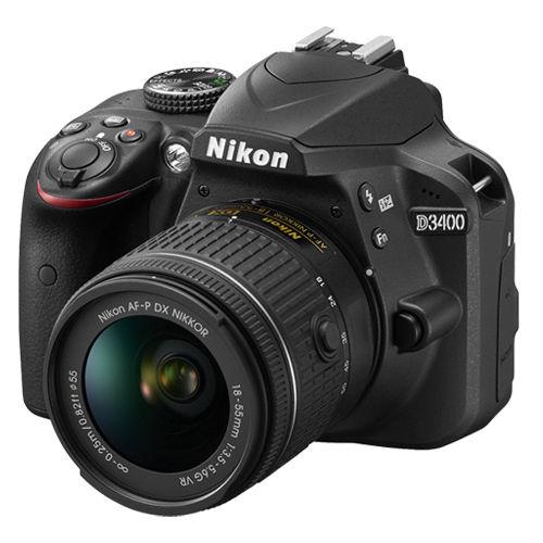 Nikon D3400 with kit lens $329.87 on Ebay