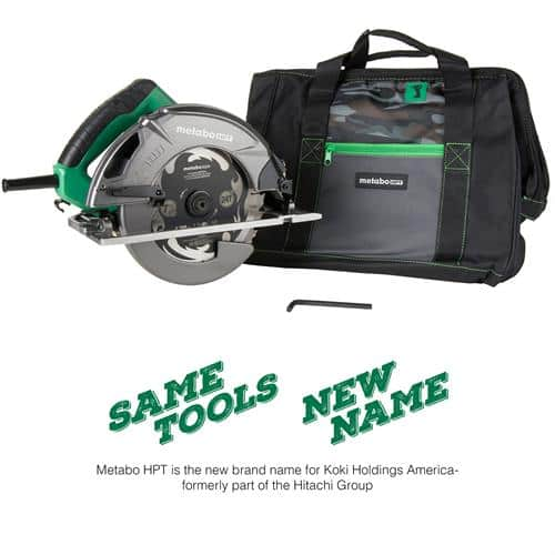 Lowes: Metabo HPT (Hitachi Power Tools) 7-1/4-in Corded Circular Saw with Aluminum Shoe and Soft Case $69 + FREE S/H