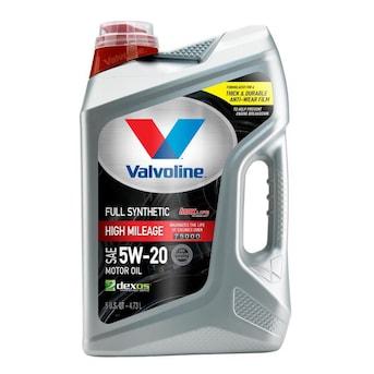 Valvoline Full Synthetic High Mileage MaxLife SAE 5W-20 Motor Oil- Easy Pour 5 Quart $8.28 YMMV